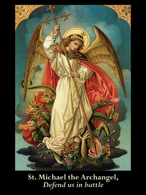 Free Catholic Holy Cards Catholic Prayer Cards St Michael Archangel St Gabriel Archangel St Raphael Archangel Guardian Angel Support