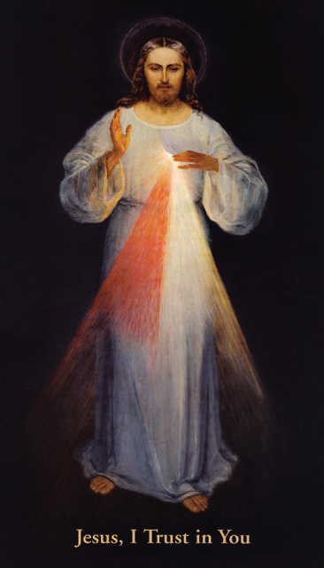 LARGE DIVINE MERCY IMAGE FOR FRONT DOOR TO PROTECT HOME FROM CORONAVIRUS