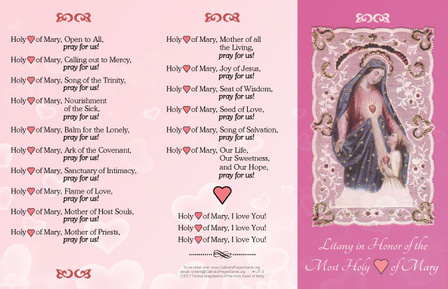 Litany of the Holy Heart of Mary