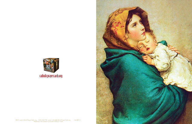 Madonna of the Streets Note Card