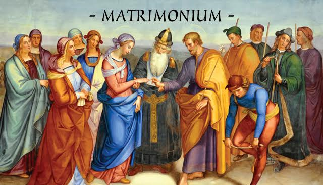 Matrimonium Prayer Card