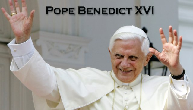 Pope Benedict XVI Prayer Card