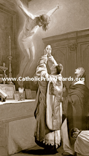 Priestly Vocations Prayer Card
