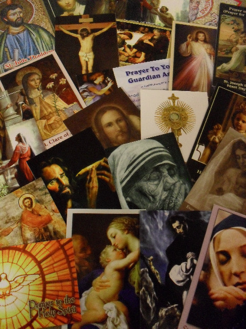 """Classic Series"" - 75 Holy Card Assortment"