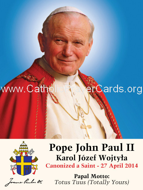 ** ENGLISH ** Special Limited Edition Collector's Series Commemorative Pope John Paul II Canonizatio