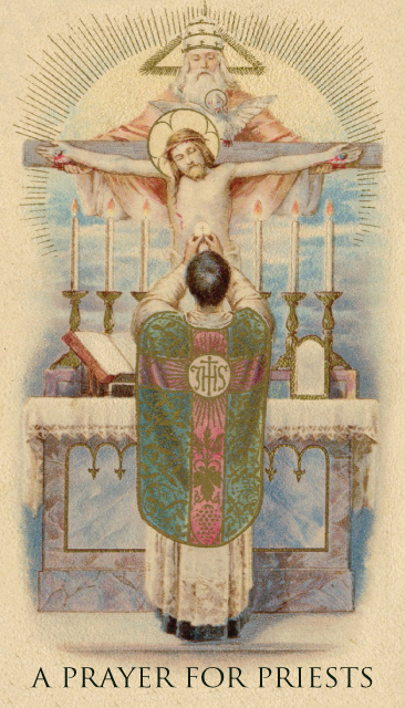 Keep Thy Priests Prayer Card