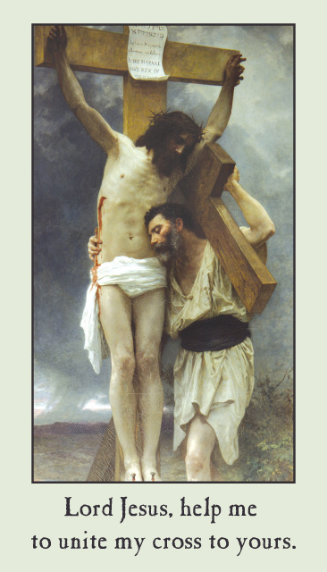 Stations of the Cross Prayer Card