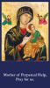 Mother Of Perpetual Help Prayer Card