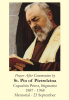 St. Padre Pio Prayer After Communion Holy Card