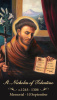 St. Nicholas of Tolentino Prayer Card